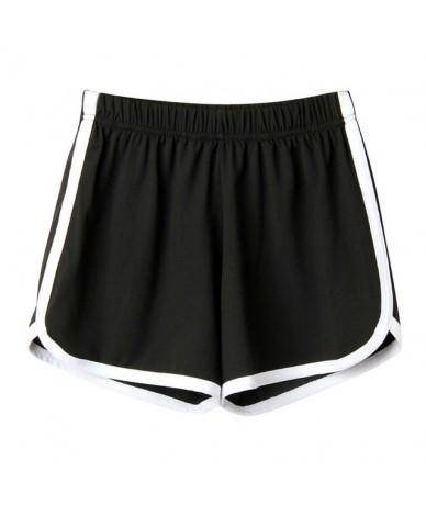 shorts women Fashion high waist shorts feminino Women Lady Summer Sport Shorts femme 2019 - Black - 4K4124748590-3