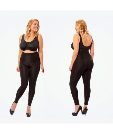 Anti Cellulite Plus Size 4XL High Waist Shaping Compression Leggings for Women Body Shaper Fitness Push Up Black Leggings Su...