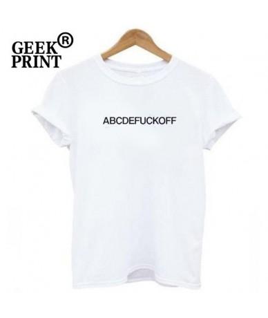 T-Shirt Womens Tops Lady Tee Shirt Summer Tumblr T Shirt Gifts Dropshipping - White Tee - 4L3023115431-2