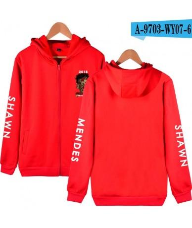 shawn mendes Zipper Hoodies Sweatshirt Cool Kpop College Stylish 2019 New Autumn/Winter Casual Fashion Cool Zipper Sweatshir...