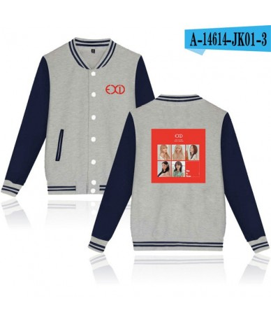 EXID Hoodies Sweatshirts Women/Men Winter Casual Harajuku Baseball Jacket Clothes Modis Kpop Plus Size K-pop College Style T...