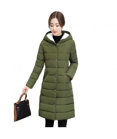 2019 New style Parkas Female Women Winter Coat Thickening Cotton Winter Jacket Womens Outwear Parka for Women Winter Down ja...