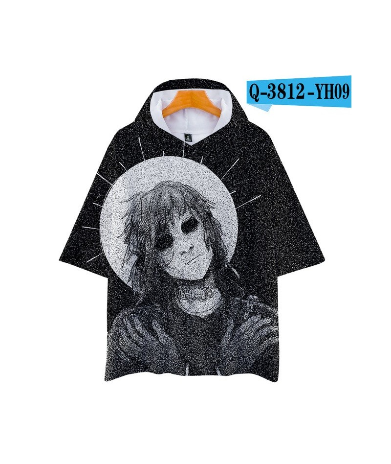 3D pop Face Casual Hoodies Women and Men summer Clothes 2019 Hot Sale Short Sleeves Plus Size - Khaki - 4Z3090896959-12