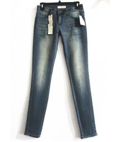 Women Skinny Jeans Blue Pencil Pants 2019 Spring Summer Thin Elasitc Slim Bleached Vintage Denim Big Sizes Woman - light blu...