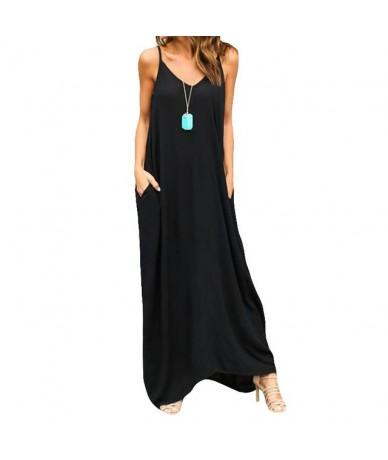 2017 Women Dress Elegant Beach Neck Sexy Dress Halter Long Dress - 2 - 463934977040-2