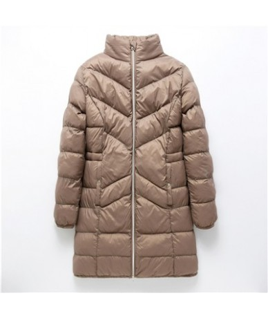 Women fashion parka long jacket Obese lady overweight people coats spring winter warm outwear large plus size 5XL 6xl 7xl QY...