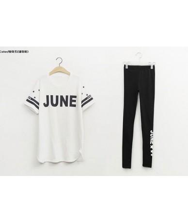 2 piece set women's tracksuits twinset plus size 2018 elastic sportswear Pants suits set ladies Skinny track suit Girls - 2 ...