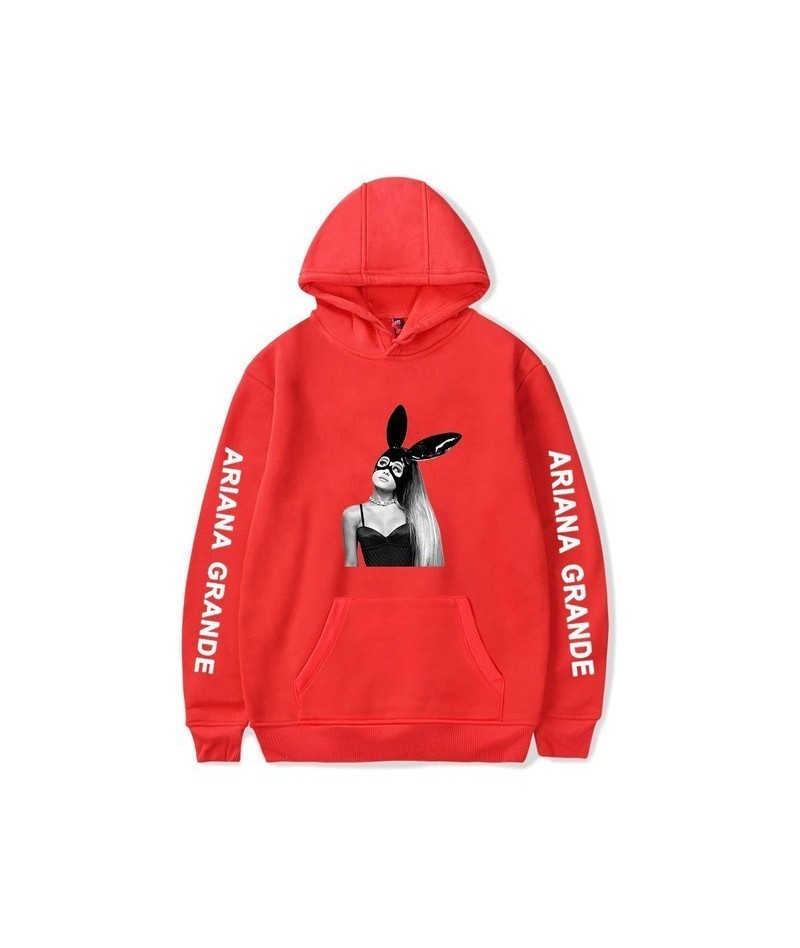 Spring 2019 Ariana Grande Sweatshirt Dangerous Woman Tour Hip Hop Hooded Hoodie Women Clothes Harajuku Girl Hoodies Sweatshi...