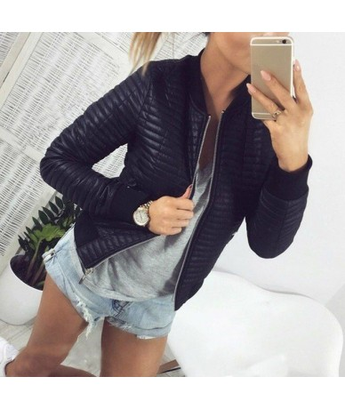Fashion Women Autumn Winter Coat Short Section Outwear Cotton Padded Warm Jacket Outwear Casual Parkas Thin Female Clothes -...