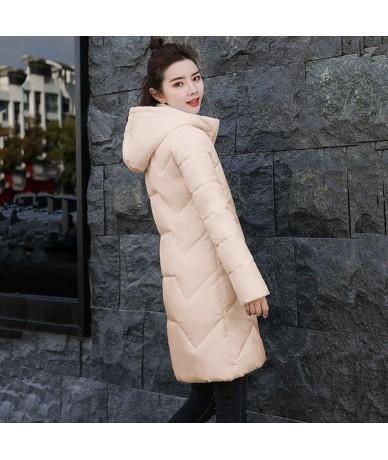Women's cotton-padded jacket 2019 winter medium-long down cotton plus size winter jacket female slim ladies jackets and coat...