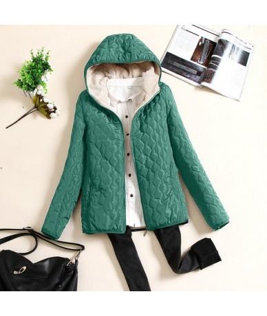 Womens Winter Warm Jackets Fur Collar Denim Jackets Outcoat Jean Outwear Casual Jacket Overcoat Top girl pocket female outer...
