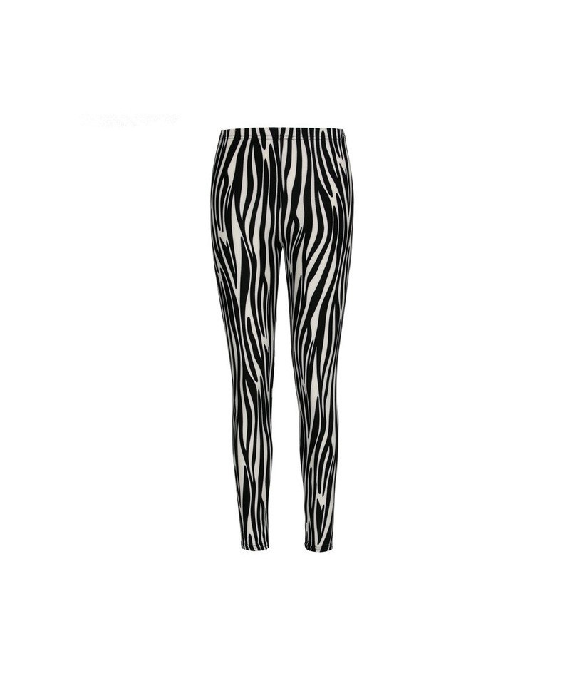 Brand Flowers Printed Elasticity Leggings Fashion Chinese Style Women Printing Pant Leggins Ankle-Length Female - 12 - 4P394...