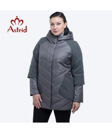 Winter Jacket Women New Autumn Women Coat down Warm down jackets coat female plus size Winter Cotton Ukraine AM-1980 - Dark ...