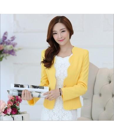 2019 Blazers Slim Cardigans Office Wear Coat For Women Tops Korean Style Female Clothing Harajuku Female Jacket Pocket 421 -...