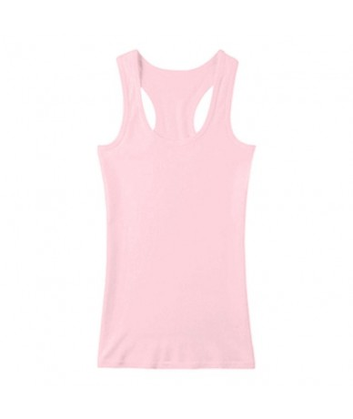 Cotton Fabrics Women Tank Top Comfortable Breathable Sport Vest Female Slim Hem Camisole Casual Basic Style Sleeveless Tops ...