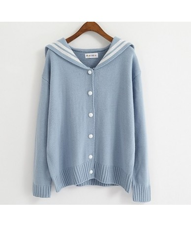Women's Sweaters Kawaii Ulzzang College Wind Ribbon Bow Tie Knit Letter Embroidered Sweater Female Harajuku Clothing For Wom...