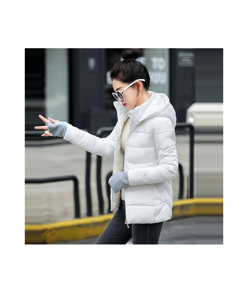 Winter Jacket Women Plus size 2019 New Ukraine 5XL Womens Down Cotton Thicker jackets Hooded Winter Coat Female Autumn Parka...