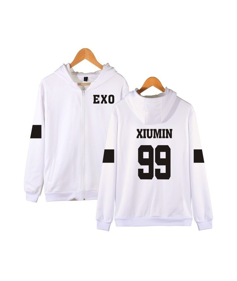 Frdun Tommy Kpop EXO Hooded Sweatshirt Women Korean Popular Hip Hop Winter Coat Fashion Women Hoodies Sweatshirts Casual Clo...