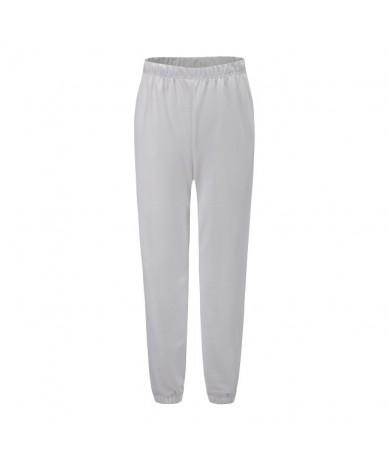Simple Casual Harem Pants Women Loose Elastic Waist High Waist Pocket Long Pants Ladies Fashion Plus Size Slim Pant Female -...
