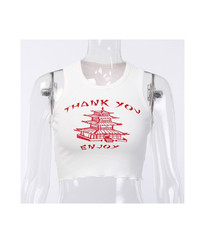 knitting Print O Neck Off Shoulder Tank Top 2019 Summer Women Casual Slim Streetwear Crop Top Female Vacation Clothes Top - ...