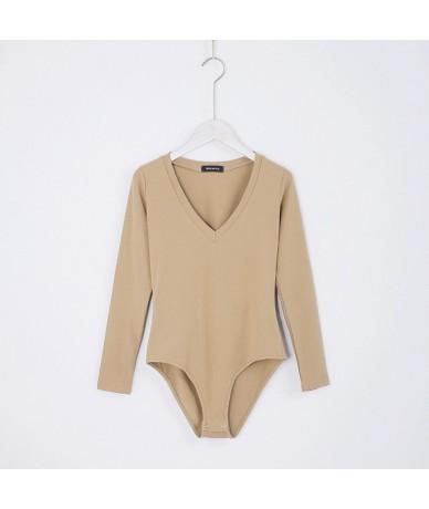 Woman Blouses Fashion Sweatshirt Women Streetwear 7 Colors O Neck Frill Trim Long Sleeve Bodysuit - Color 3 - 4U3932861128-3