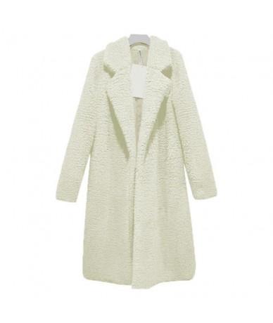 Elegant faux Fur coat Women 2018 autumn winter warm soft cardigan fur jacket female plush overcoat casual outerwear women ja...