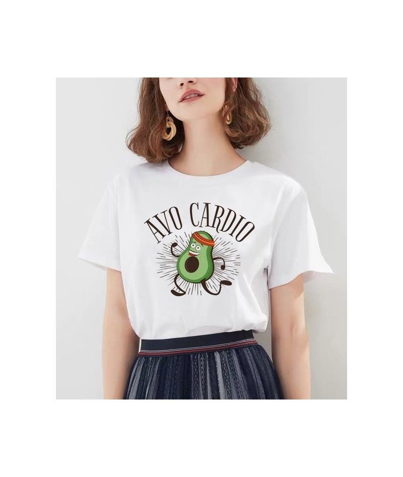 avocado t shirt tee shirt clothes male new femme fashion harajuku 90s top grunge ulzzang graphic tshirt kawaii women t-shirt...