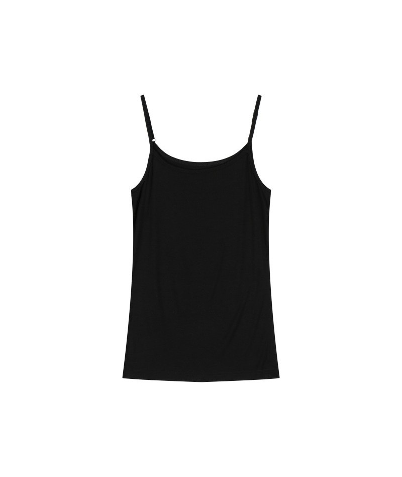 Tank top Women Summer Casual Camisoles Women's Tops T-shirt Spaghetti Strap Cropped Vest Female Camis Fashion cotton Tops - ...