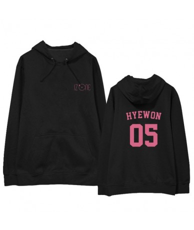 Kpop IZONE Album Hoodie Hip Hop Casual Loose Hooded Clothes Pullover Printed Long Sleeve Sweatshirts WY878 - HYEWON Thick - ...