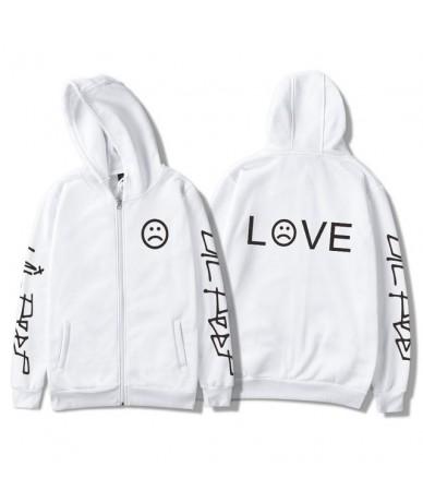 Lil Peep Hoodies Women Sweatshirt Zipper Jackets Cotton Pocket Hot Sale Girl Fans Streetwear Drop Shipping - 12 - 4S30190066...