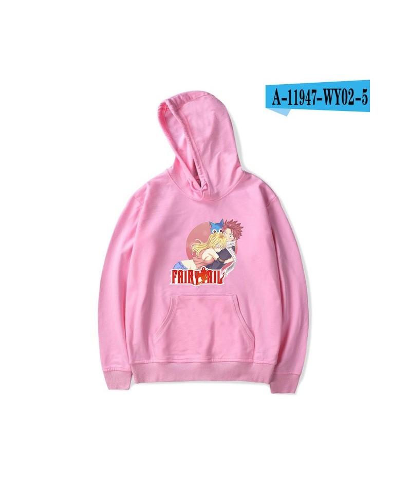 Fairy tail Software 2019 New Hoodies Sweatshirt Harajuku Women/Men Popular Clothes Casual Hot Sale Hooded 4XL - pink - 40413...