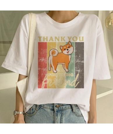 Shiba Inu T Shirt Funny Cute Animal Shirt Funny Graphic Korean Clothing Top Women Ulzzang T-shirt Female Tees Harajuku For W...