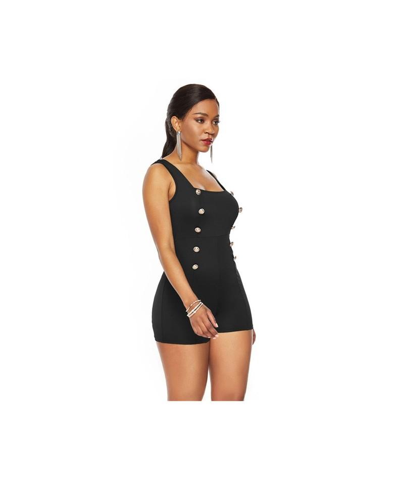 Femme Romper Clothes Fashion Elegant Body Jumpsuit Bodysuit Women Sexy Playsuit One Piece Feminino Plus Size Office Lady Sol...