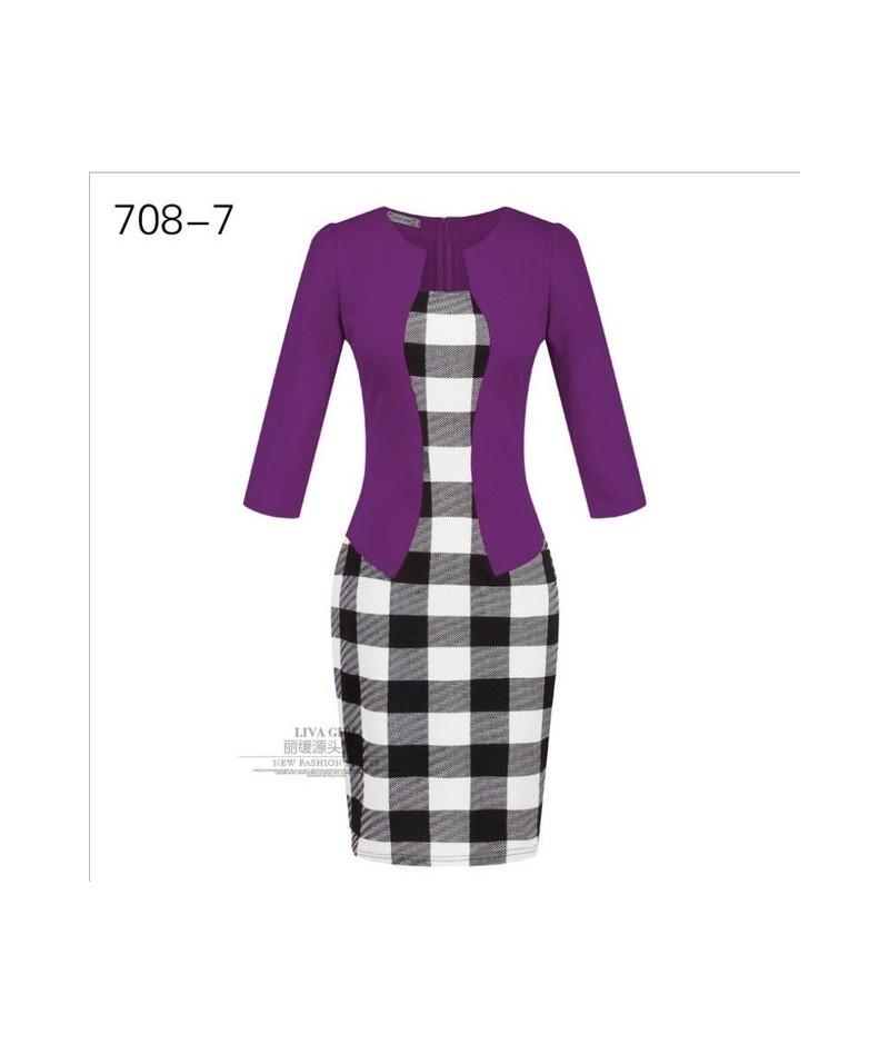 Two-piece professional women's bag hip pencil dress Gift belt CJNSSYLY00427 - 3 - 4S4158912609-3
