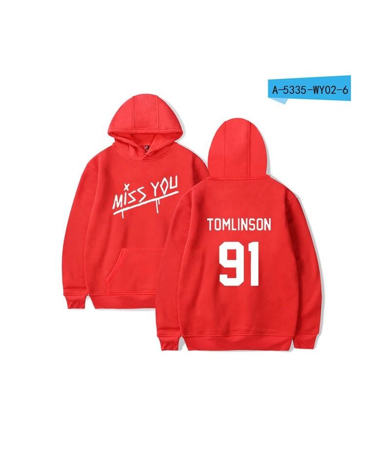 LUCKYFRIDAYF Louis Tomlinson One Direction Hoodies Men/Women Hoodies Sweatshirt Winter Casual Sweatshirt Women Hoodies Cloth...