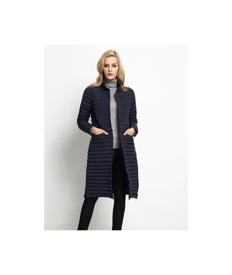 2019 New Spring Jacket Parka Women Winter Coat Women's Warm Outwear Thin Cotton-Padded Long Jackets Coats Female Jacket - 1 ...