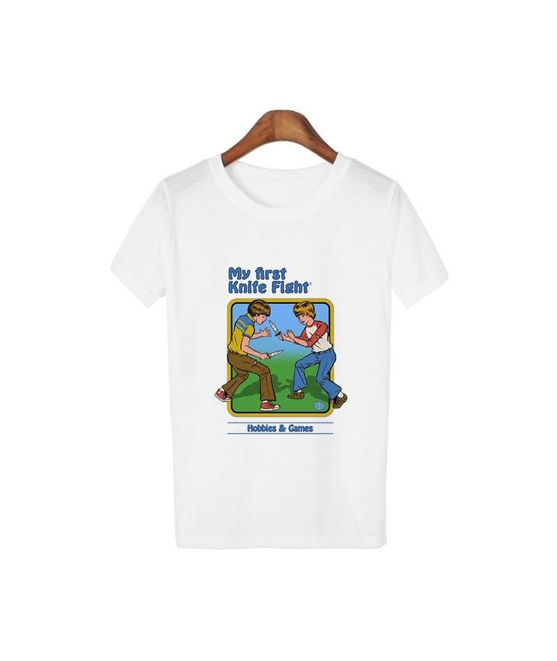 Harajuku Kawaii Clothes Vintage 80s 90s Tshirt Self Help Guide Graphic Tees Female T-shirt Funny Graphic Streetwear - 1319wh...