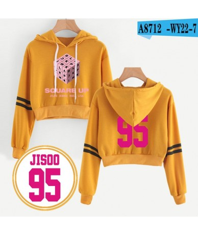 Fashion Cool style Blackpink Small Sexy Streetwear Hoodie Exclusive Long Sleeve Sweatshirts Women HIP HOP popular Clothes - ...