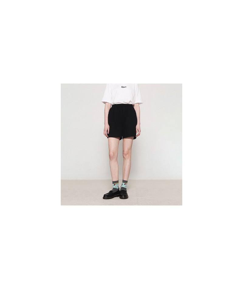 2019 female Fashion Women solid Shorts Fitness Summer Women Hot Ladies Shorts For street Shorts Women Casual Short Pants - B...