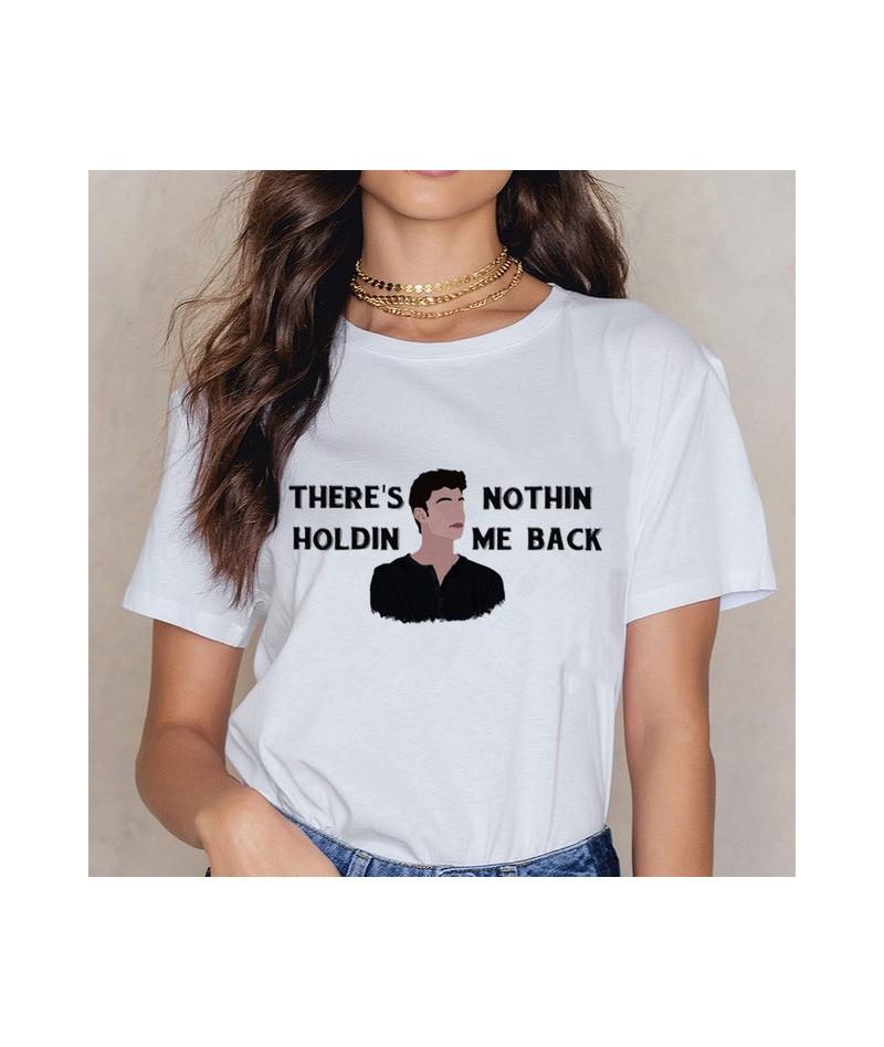 New Shawn Mendes 90s Ullzang T Shirts Women Harajuku Fashion T-shirt Graphic Funny Cartoon Print Tshirt Summer Top Tees Fema...