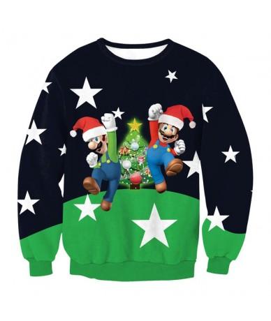 Christmas Sweatershirt Men Women Santa Xmas Christmas Novelty Ugly Warm Sweater Female Tops Clothes New Arrival Stylish Unis...