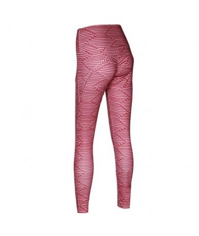 Women High Waist Workout Leggings 3D Digital Printing Fitness Legging Activewear Sporting Jeggings Casual Pants Women - Red ...