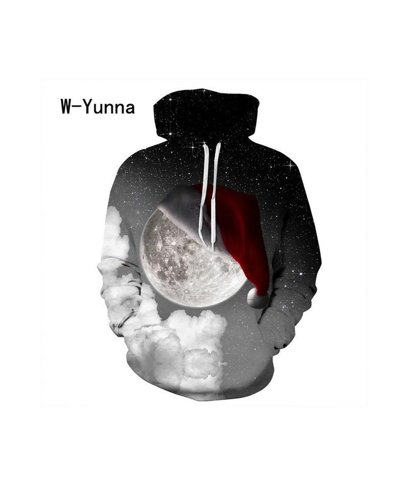 2019 Newest 3D Print Christmas Halloween Skull Theme Pullover Hoodies For Women/men Causal Loose Plus Size Sweatshirts Femme...