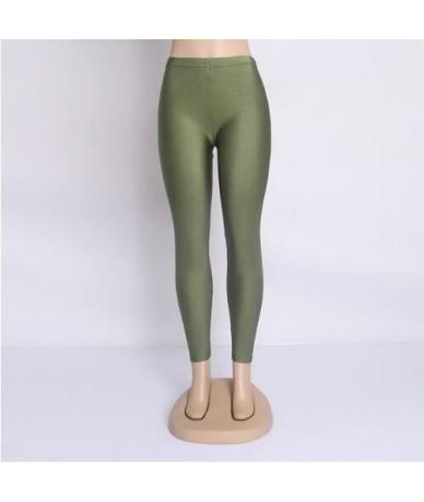 spandex leggings plus size black white women leggings colors shiny lycra neon spandex leggings high waist stretch skinny shi...