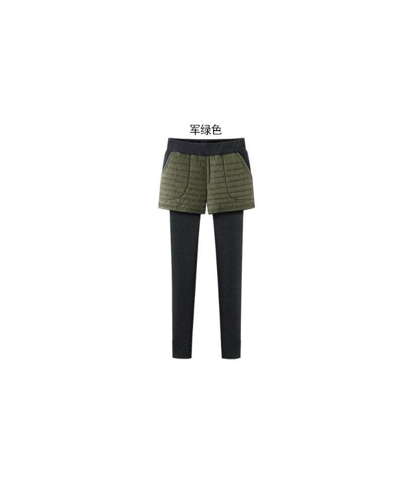 M-6XL Plus Size Thicker Keep Warm Women Winter Leggings Female Casual Outer Wear Pants Skirt Sweatpants High Waist Leggings ...