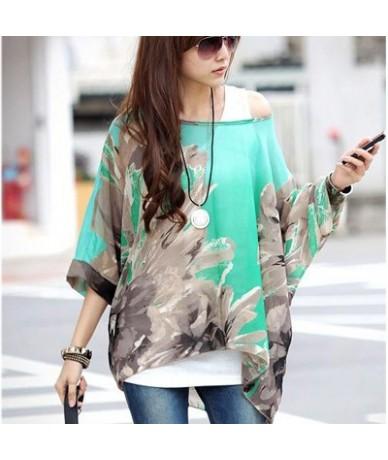 Blusas Women Blouses 2018 New Fashion Womens Casual Chiffon Blouse Summer Style 4XL 5XL 6XL Plus Size Women Chiffon Shirts T...