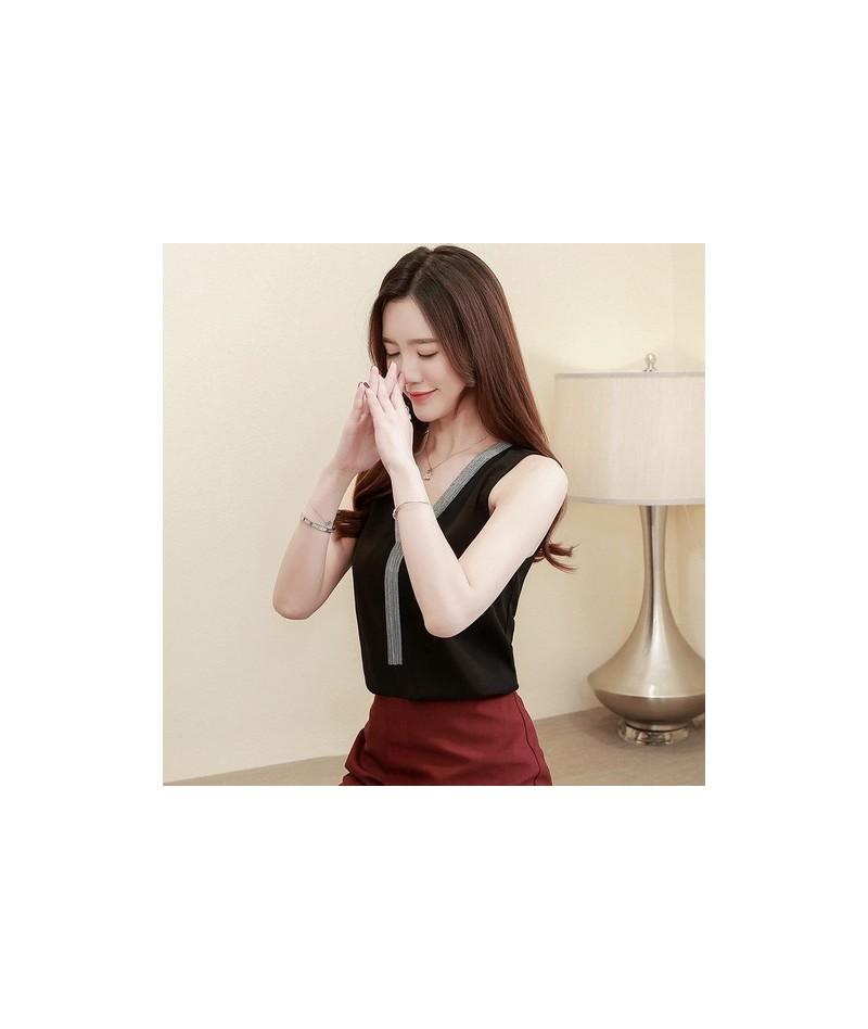 blusas mujer de moda 2019 tassel v collar office lady chiffon blouse women shirts camisas mujer womens tops and blouses 4094...