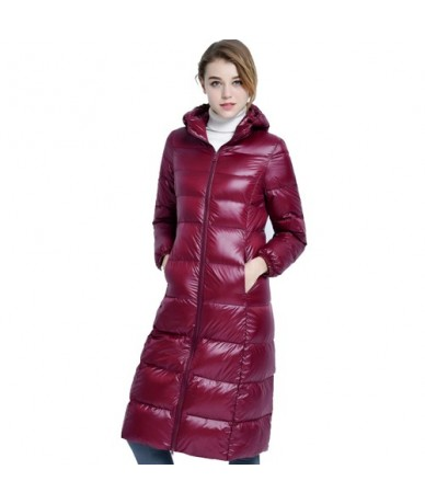 Winter Jacket Women Windproof Warm Ultra Light Long Women Down Jackets 2019 Winter Parkas Women's Parkas Mujer Plus Size 3XL...