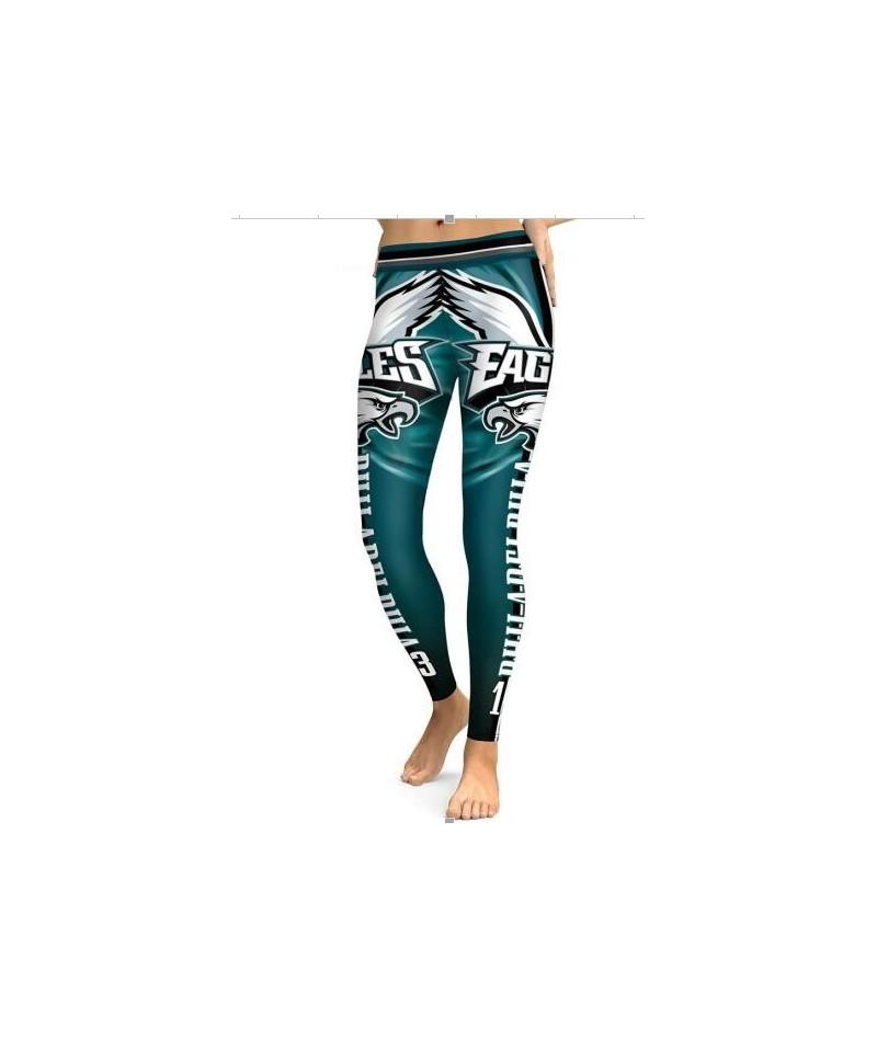 SEATTLE SEAHAWK S 3D PRINT WOMEN LEGGINGS HIGH WAIST LEGGING STEELERS PRINTED WOMEN PANTS SLIM FITNESS LEGGINS - Eagle 2 - 4...