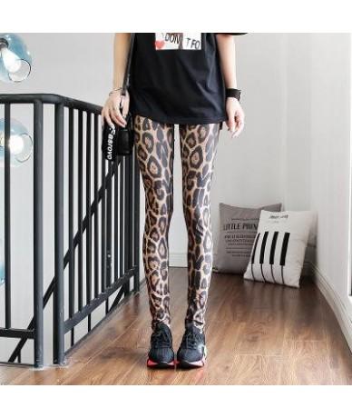 2019 Women Leggings High Waist Cartoon Comic Beauty Print Trousers Soft - 11 - 4V4157739043-11